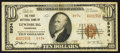 National Bank Notes:Tennessee, Lewisburg, TN - $10 1929 Ty. 2 The First NB Ch. # 8934. ...