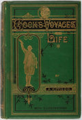 Books:Travels & Voyages, A. Kippis. A Narrative of the Voyages Round the World, Performed by Captain James Cook. London: Bickers and Son, 187...