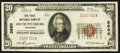 National Bank Notes:Tennessee, South Pittsburg, TN - $20 1929 Ty. 1 The First NB Ch. # 3660. ...