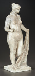 Sculpture, PIERRE-AUGUSTE RENOIR (French, 1841-1919) and RICHARD GUINO (French, 1890-1973). Petite Vénus a la Pomme (Small Venus with...