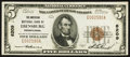 National Bank Notes:Pennsylvania, Ebensburg, PA - $5 1929 Ty. 1 The American NB Ch. # 6209. ...