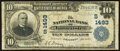 National Bank Notes:Kentucky, Lancaster, KY - $10 1902 Plain Back Fr. 624 The NB of Lancaster Ch.# (S)1493. ...