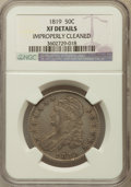 Bust Half Dollars, 1819 50C -- Improperly Cleaned -- NGC Details. XF. NGC Census:(30/373). PCGS Population (54/314). Mintage: 2,208,000. Numi...