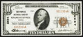 National Bank Notes:Virginia, Charlottesville, VA - $10 1929 Ty. 1 The Peoples NB Ch. # 2594. ...