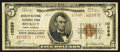 National Bank Notes:West Virginia, Beckley, WV - $5 1929 Ty. 2 The Beckley National Exchange Bank Ch.# 10589. ...