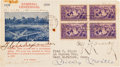 Autographs:Others, 1939 Baseball Centennial First Day Cover Signed by Alexander, Young, Johnson....