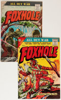 Golden Age (1938-1955):War, Foxhole #5 and 7 Group (Charlton, 1955).... (Total: 2 Comic Books)