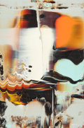 American:Modern, LEONARDO M. NIERMAN (American/Mexican, b. 1932). Refraction.Acrylic on masonite. 22 x 14-1/2 inches (55.9 x 36.8 cm). S...