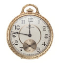 Timepieces:Pocket (post 1900), Hamilton 14k Gold Model 916 Open Face Pocket Watch. ...