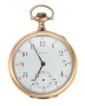 Timepieces:Pocket (post 1900), Howard Gold Filled 17 Jewel Pocket Watch. ...