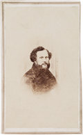 Photography:Studio Portraits, Samuel Colt From Life Portrait Carte de Visite, circa1861....