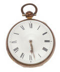 Timepieces:Pocket (pre 1900) , Henry Reeve London Verge Fusee, circa 1830. ...