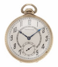 Timepieces:Pocket (post 1900), Hamilton 14k Gold Model 912 Pocket Watch. ...