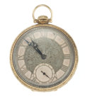 """Timepieces:Pocket (post 1900), Illinois 14k Gold """"The Marquis"""". ..."""
