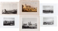 Miscellaneous:Ephemera, Collection of Six Lithographic Items of Texas Towns... (Total: 6 Items)