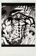 Original Comic Art:Splash Pages, Carlos D'Anda and Mark Irwin Resident Evil #5 Splash Page 7Original Art (Image, 2001)....