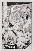 Original Comic Art:Splash Pages, Tim Vigil Sorcery Splash Page 8 Original Art (undated)....