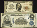 National Bank Notes:Tennessee, Jackson, TN - $5 1902 Plain Back Fr. 600 Ch. # (S)3576; $10 1929Ty. 1 The Second NB Ch. # 3576. ... (Total: 2 notes)