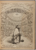 Books:Americana & American History, [Periodical]. Mrs. Grundy. Bound Volume of the First ElevenIssues. New York: Mrs. Grundy Publishing, 1865. 112 ...