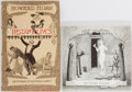 Books:Art & Architecture, [Edward Gorey]. Illustrator. Group of Two. Various publishers. Includes The Secrets: The Other Statue and Instant Live... (Total: 2 Items)