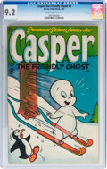 Golden Age (1938-1955):Cartoon Character, Casper the Friendly Ghost #8 File Copy (Harvey, 1953) CGC NM- 9.2Cream to off-white pages....