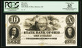 Obsoletes By State:Ohio, Marietta, OH- State Bank of Ohio Marietta Branch $10 G900 Wolka 1563-31 Proof. ...