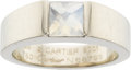 Estate Jewelry:Rings, Cartier Moonstone, Gold Ring. ...