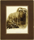 """Photography:Official Photos, HAUNTING BARRY PHOTO OF """"INDIAN MOTHER AT GRAVE."""" Although David F. Barry took the majority of his photographs of Na... (Total: 1 Item)"""