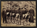 """Photography:Official Photos, WONDERFUL GRABILL PHOTO OF DEADWOOD CHINESE HOSE TEAM. Well-knownimage of """"The Champion Chinese Hose Team of American who...(Total: 1 Item)"""