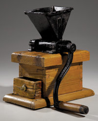 Early Corn Meal Grinder