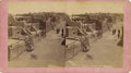 Photography:Stereo Cards, LOT OF TWO PUEBLO NATIVE AMERICAN INDIAN STEREOGRAPHS - G. BEN WITTICK - ca. 1881-84. This is a lot of (2) stereographs sho... (Total: 1 Item)