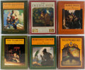Books:Children's Books, [N.C. Wyeth]. Illustrator. Various Authors. Group of Six.Scribners, ca. 1990. Publisher's binding and dj's. Includes work...(Total: 6 Items)