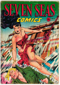 Golden Age (1938-1955):Adventure, Seven Seas Comics #6 (Universal Phoenix Feature, 1947) Condition: GD+....