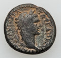 Ancients:Roman Provincial , Ancients: JUDAEA. Sepphoris (Diocaesarea). Trajan (AD 98-117). Æ19mm (5.43 gm)....