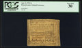 Colonial Notes:Pennsylvania, Pennsylvania April 3, 1772 2s PCGS Very Fine 30.. ...