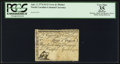 Colonial Notes:North Carolina, North Carolina April 2, 1776 $1/2 Crow and Pitcher PCGS ApparentVery Fine 35.. ...