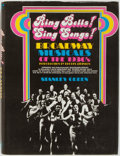 Books:Music & Sheet Music, [Broadway Musicals]. Stanley Green. Ring Bells! Sing Songs!Broadway Musicals of the 1930's. Arlington House, 1971. ...