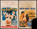 "Movie Posters:Adventure, Aloma of the South Seas and Other Lot (Paramount, 1941). WindowCards (2) (14"" X 22""). Adventure.. ... (Total: 2 Items)"