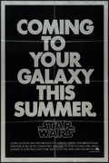 "Movie Posters:Science Fiction, Star Wars (20th Century Fox, 1977). One Sheet (27"" X 41""), SecondAdvance Style. Science Fiction.. ..."