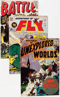 Silver Age (1956-1969):Adventure, Silver Age Adventure and War Related Group (Various Publishers, 1953-61).... (Total: 16 Comic Books)