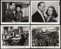 "Movie Posters:Drama, Tales of Manhattan (20th Century Fox, 1942). Portrait and Scene Photos (4) (8"" X 10""). Drama.. ... (Total: 4 Items)"