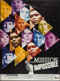 """Movie Posters:Action, Mission Impossible Versus the Mob (CIC, 1968). French Grande (45.5"""" X 62.25""""). Action.. ..."""