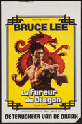 "Movie Posters:Action, The Way of the Dragon (Belga Films, 1974). Belgian (14"" X 22.5"").Action.. ..."