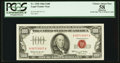 Small Size:Legal Tender Notes, Fr. 1550 $100 1966 Legal Tender Note. PCGS Apparent Choice About New 58.. ...