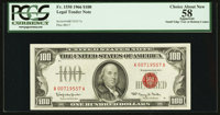 Fr. 1550 $100 1966 Legal Tender Note. PCGS Apparent Choice About New 58