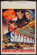 "Movie Posters:War, China (Paramount, late 1940s). First Post-War Belgian (14.5"" X22""). War.. ..."