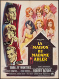 """Movie Posters:Exploitation, A House Is Not a Home (Paramount, 1964). French Affiche (23.5"""" X31.5""""). Exploitation.. ..."""
