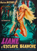"Movie Posters:Adventure, Liane, Jungle Goddess (Sofradis, 1960). French Grande (45"" X 62"").Adventure.. ..."