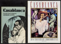"Movie Posters:Academy Award Winners, Casablanca Book Lot (Various, 1973-1992). Hardbound Book (6.5"" X 9.5""), and Paperback Book (8.5"" X 11""). Academy Award Winne... (Total: 2 Item)"