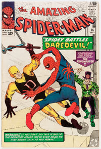The Amazing Spider-Man #16 (Marvel, 1964) Condition: VG